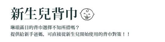 BECO雙子星台灣限定款嬰兒背帶/揹巾,新生兒使用不需配件