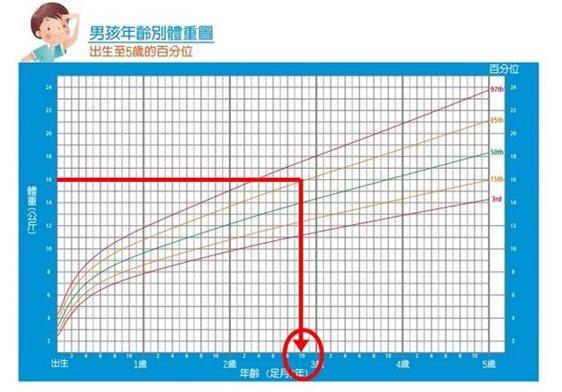 生長曲線男生1
