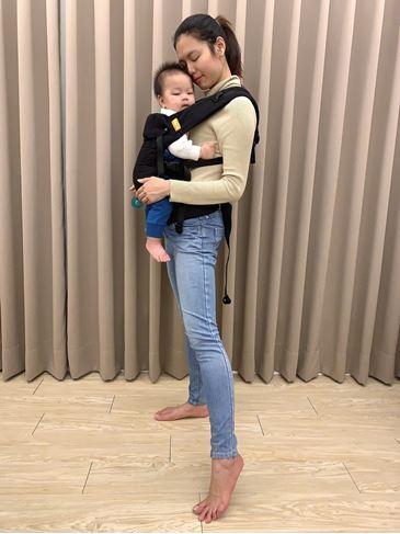 潘雙子星背巾提升親子之間幸福的親密感