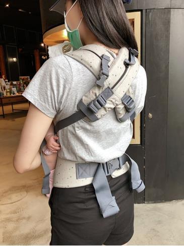 BECO雙子星背巾H型雙肩背和交叉背法