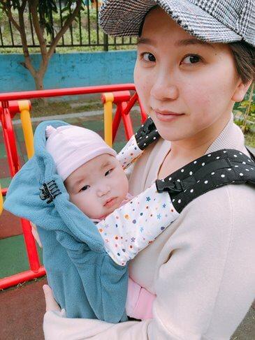 Elaine推薦寶寶必備BECO雙子星艾莉絲背巾