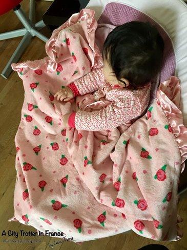 馬力的法國主婦生活的maxdaniel寶寶毯