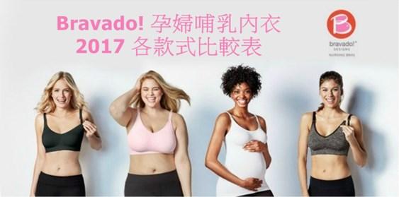 加拿大Bravado孕婦哺乳內衣比較表