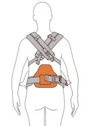 可拆式腰部支撐墊