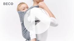 大寶寶背巾後背影片介紹