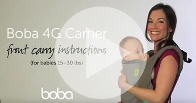 Boba4g寶寶揹帶前背影片介紹