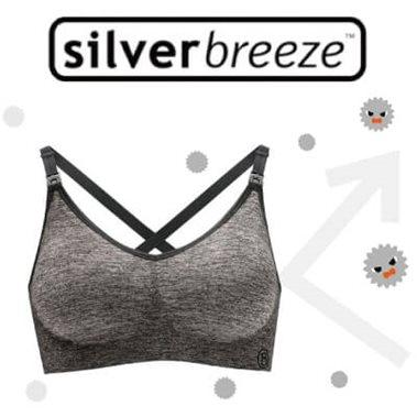 Bravado哺乳內衣絲雅YogaSilverbreeze™專利技術