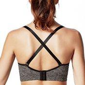 Bravado哺乳內衣絲雅Yoga清新的運動風格肩帶可交叉