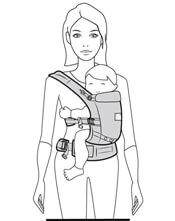 Ergobaby全階段式三種背法側背6-24個月