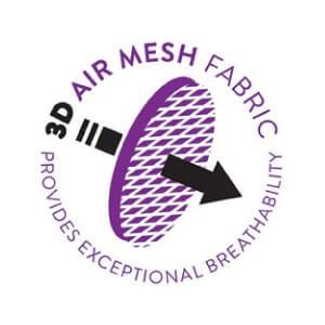 3Ergobaby功能款透氣炭灰色D MESH材質輕薄透氣