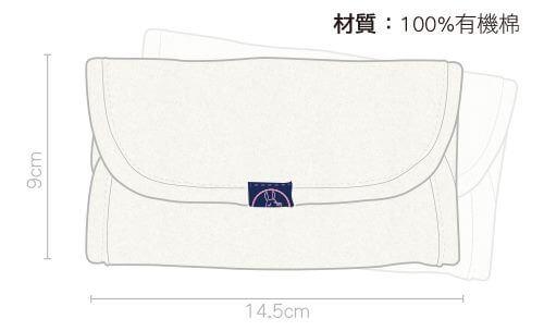 IBQ有機口水巾綠瓢蟲解析圖