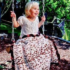 好萊塢明星最愛的寶寶毯粉紅雪豹寶寶毯子