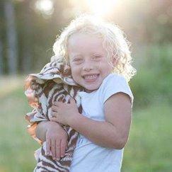 好萊塢明星最愛的寶寶毯棕色斑馬寶寶毯子