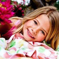 好萊塢明星最愛的寶寶毯粉紅彩色點點寶寶毯子