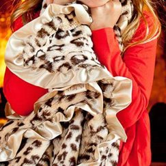 Max Daniel動物紋寶寶毯美洲豹寶寶毯子示意圖