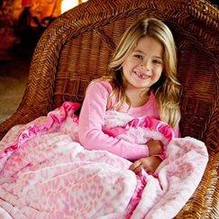 好萊塢明星最愛的寶寶毯粉紅美洲豹寶寶毯子