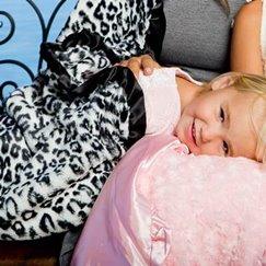 好萊塢明星最愛的寶寶毯黑白美洲豹寶寶毯子
