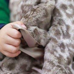 Max Daniel動物紋寶寶毯銀色美洲豹寶寶毯子示意圖