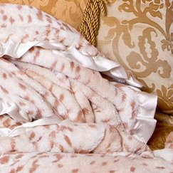 Max Daniel動物紋寶寶毯雪豹寶寶毯子示意圖