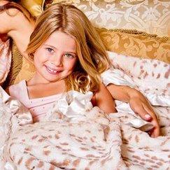 好萊塢明星最愛的寶寶毯雪豹寶寶毯子