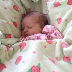 好萊塢明星最愛的玫瑰花紋蜜桃玫瑰寶寶毯子