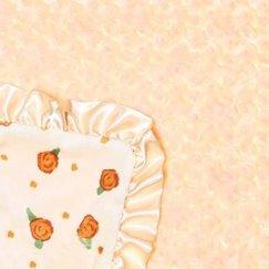 Max Daniel寶寶毯子玫瑰花紋檸檬玫瑰示意圖