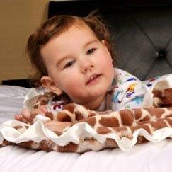 Max Daniel動物紋安撫巾象牙白長頸鹿是寶寶的最好朋友