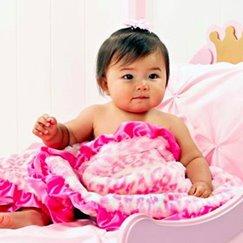 Max Daniel動物紋安撫巾粉紅美洲豹是寶寶的最好朋友