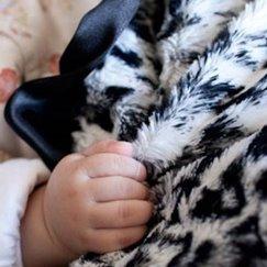 Max Daniel動物紋安撫巾黑白美洲豹是寶寶的最好朋友