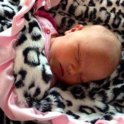 Max Daniel動物紋安撫巾粉邊美洲豹是寶寶的最好朋友